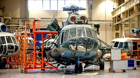 Ukraine cố sửa chữa Mi-17V-5 để cứu Motor Sich