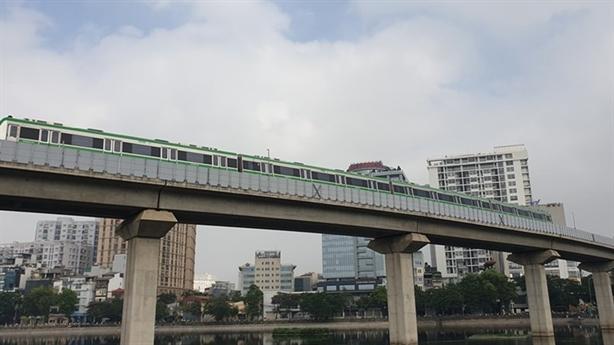 Tàu Cát Linh-Hà Đông chậm về ga 1-2 phút: Không ổn