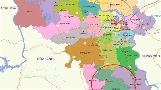 Dân đầu cơ BĐS đón sân bay Ứng Hòa vỡ mộng