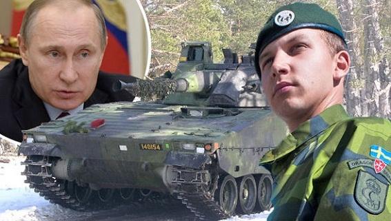 Thụy Điển tăng sốc ngân sách quốc phòng chỉ vì Nga?