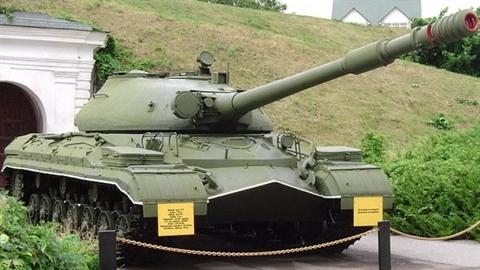 Sức mạnh đáng nể xe tăng hạng nặng T-10 của Liên Xô