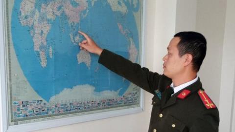 Doanh nghiệp Trung Quốc lại treo bản đồ có 'đường lưỡi bò'