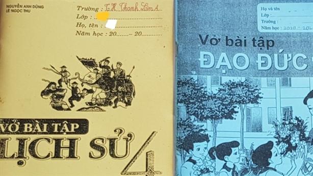 Trường tiểu học bán sách photo cho học sinh: Giải thích nóng...