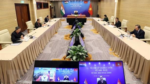 Việt-Ấn hợp tác quốc phòng, hóa dầu và năng lượng hạt nhân