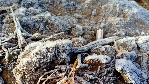 Sương muối phủ trắng vùng cao Y Tý