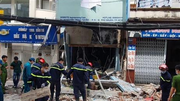 Nguyên nhân nhà sập sau tiếng nổ lớn