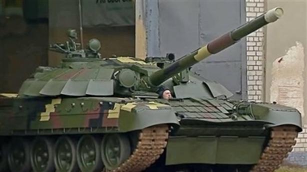 93 xe tăng Ukraine đột nhiên biến mất gần ranh giới Donbass