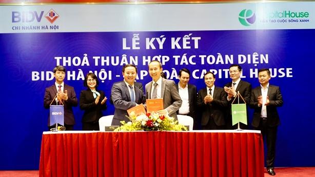 BIDV và Capital House ký kết hợp tác chiến lược toàn diện