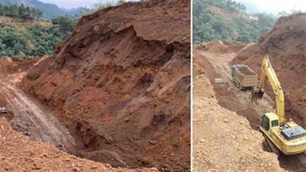 Tố doanh nghiệp đào trộm mỏ sắt Suối Thâu: Giải thích nóng