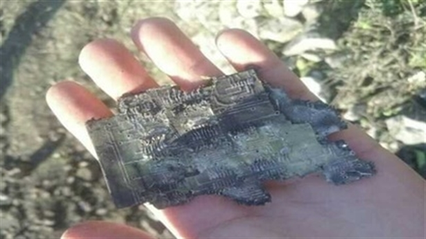 Tìm thấy mảnh vỡ nghi của S-300 Syria sau khi khai hỏa