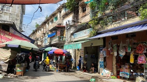 Hải Phòng sử dụng ngân sách để cải tạo chung cư cũ