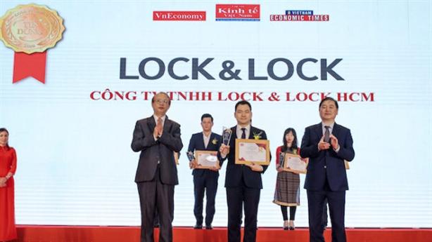 Lock&Lock Vinh danh Top 10 sản phẩm-dịch vụ tin dùng Việt 2020