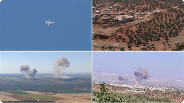 Đòn không kích của Nga khiến phiến quân thiệt hại nặng