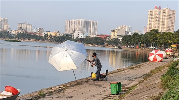 Biến hồ Định Công thành nơi... câu cá: Suy nghĩ khác
