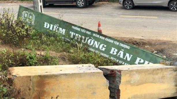 Cổng trường đè chết 3 học sinh: Vẫn nguyên hiện trạng