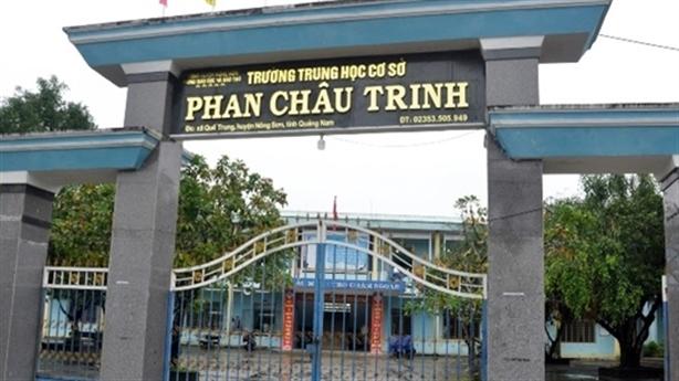 Hiệu trưởng ở Quảng Nam tử vong tại sân trường