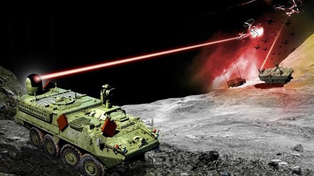Mỹ muốn đánh chặn mọi thứ bằng laser