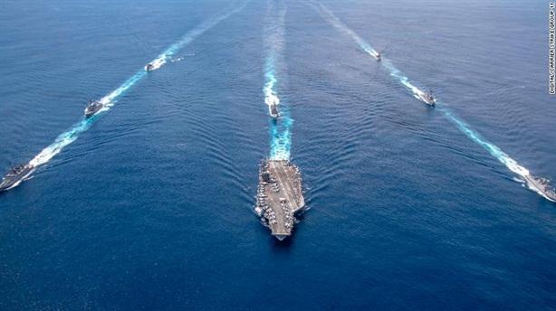 Vừa rút tàu sân bay về, Mỹ dọa Iran: Sẽ trở lại