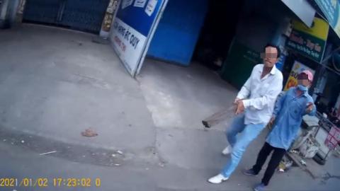 Tài xế Gojek trình báo bị đánh khi đón khách