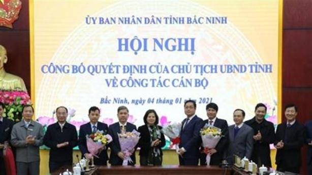 Nguyên Bí thư Thành ủy Bắc Ninh làm Giám đốc Sở LĐTB&XH