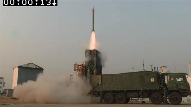 Ấn Độ thử thành công vũ khí đánh chặn MRSAM