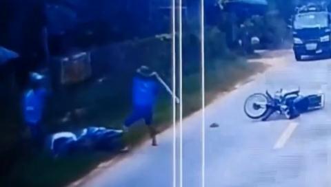 Vác gậy đuổi đánh người sau va chạm: Mâu thuẫn từ trước?