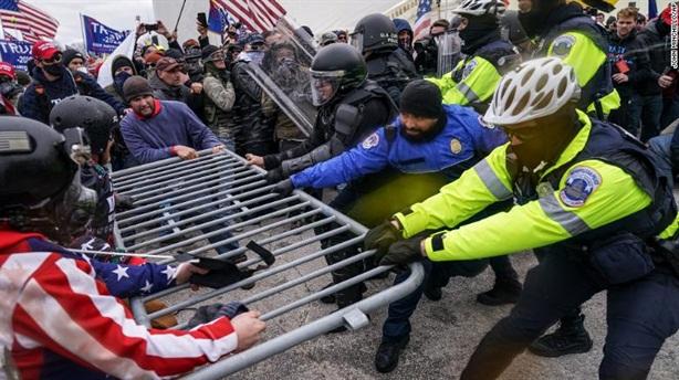 Ráo riết truy lùng những kẻ gây bạo loạn ở Đồi Capital