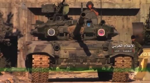Màn thể hiện nổi bật của T-90 tại Syria trước đối thủ