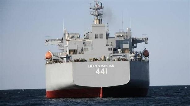 Tàu sân bay trực thăng Iran 'đánh chìm' chiến hạm ngàn tấn