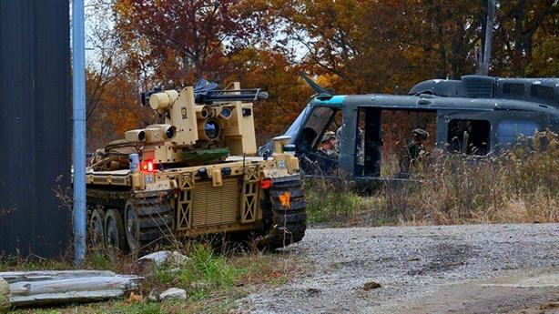 Mỹ trang bị robot hạng nặng cho chiến trường Trung Đông