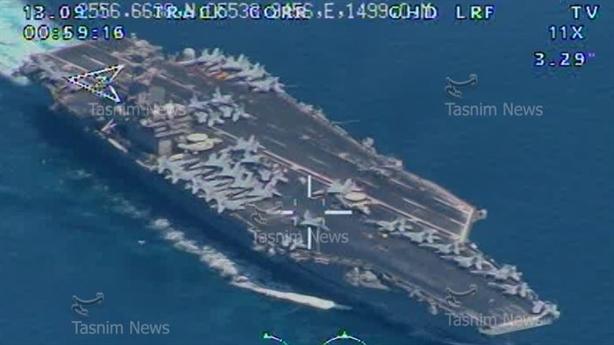 Tên lửa Iran bắn về USS Nimitz, Mỹ im lặng