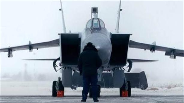MiG-31BM sẽ kiểm soát Bắc cực từ Novaya Zemlya