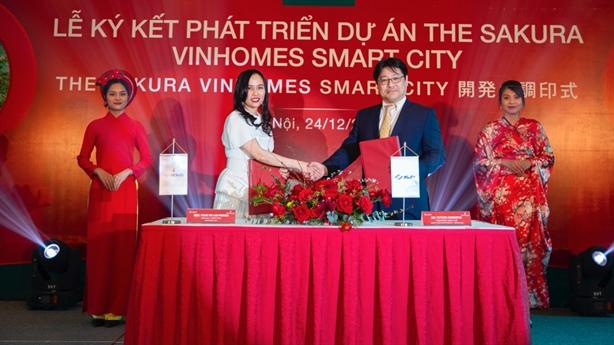 """Đằng sau dòng vốn """"khủng"""" từ Nhật đổ vào Vinhomes Smart City"""