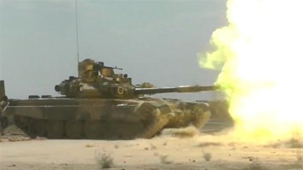 Hệ thống ТО1-PО2Т giúp T-90A tung đòn bất ngờ vào phiến quân