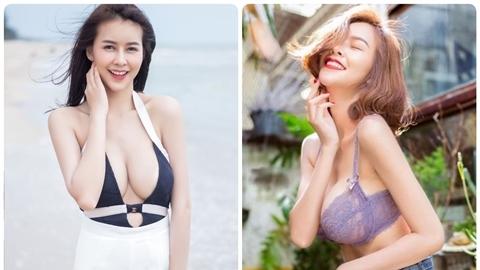 Hotgirl Thái siêu vòng một đẹp chao đảo làng giải trí