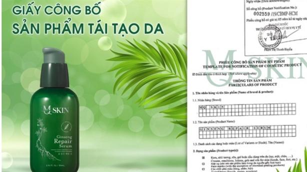 Mỹ phẩm MQ SKIN được nhiều người Việt săn đón