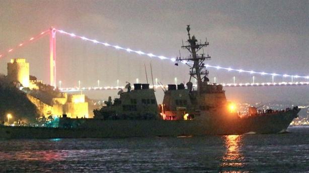 Nga nhắc lại tai tiếng khi Donald Cook lại vào Biển Đen