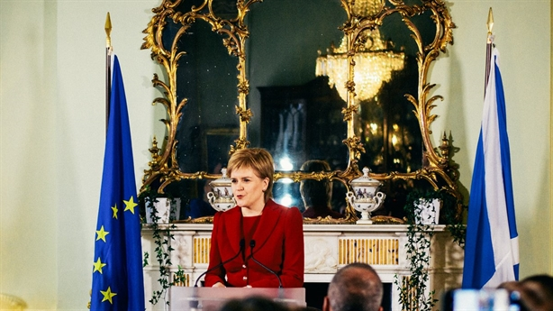 Scotland muốn trưng cầu dân ý rời Anh