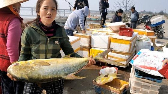Phút vây bắt đàn cá chim vàng thu về 600 triệu đồng