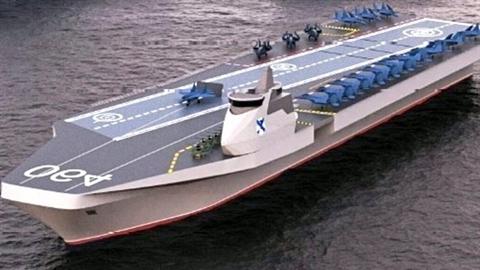 Tàu sân bay mới sẽ cách mạng hóa ngành đóng tàu Nga