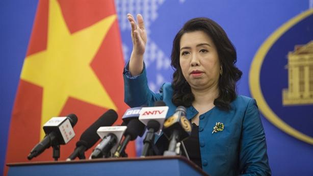 Phản ứng Việt Nam khi TQ thông qua Luật Cảnh sát biển