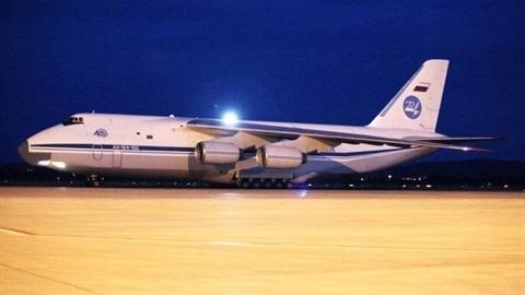 Vận tải cơ An-124 Nga đưa hàng hóa bí mật tới Syria