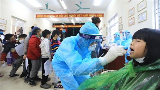 Thêm 2 ca nhiễm trong cộng đồng, đều ở Hà Nội