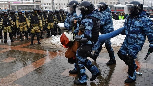 Biểu tình cuối tuần Nga, Moscow tố phương Tây