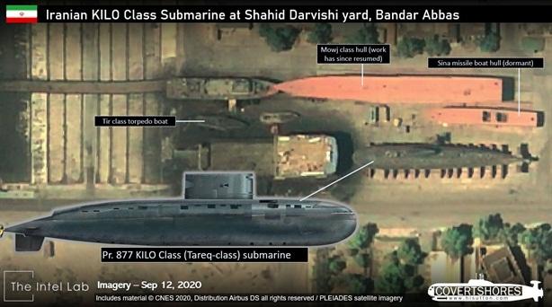 Hải quân Mỹ: Toàn bộ Kilo Iran đang nằm bờ?