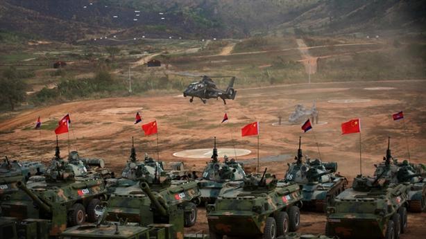 Campuchia hoãn tập trận chung với Trung Quốc