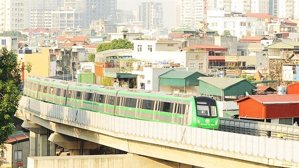 Đường sắt Cát Linh-Hà Đông vẫn phải chờ đến 3/2021