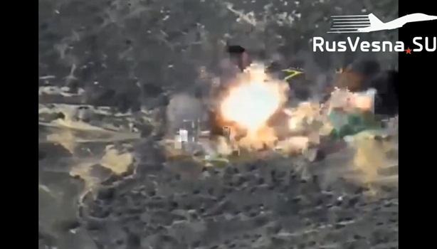 Nga dùng bom phản lực tấn công phiến quân