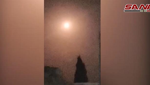 Syria công bố video đánh chặn tên lửa Israel