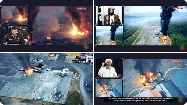 Al-Shabab công bố cảnh phá hủy 8 máy bay Mỹ